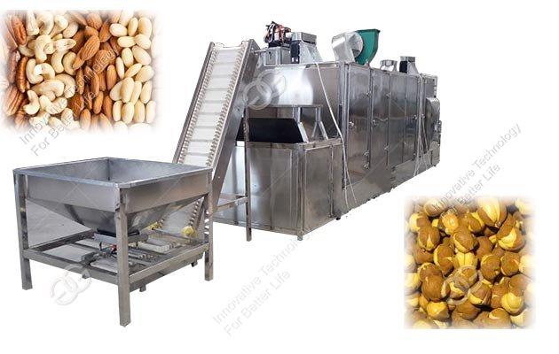 roasted nuts machine