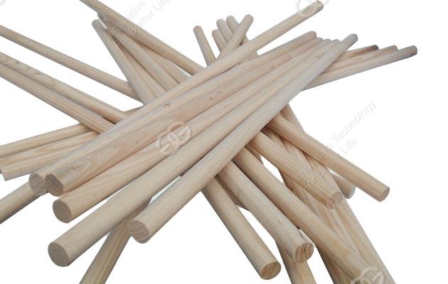 Wooden Handle Machine Round Wood Mop Sticks Machine