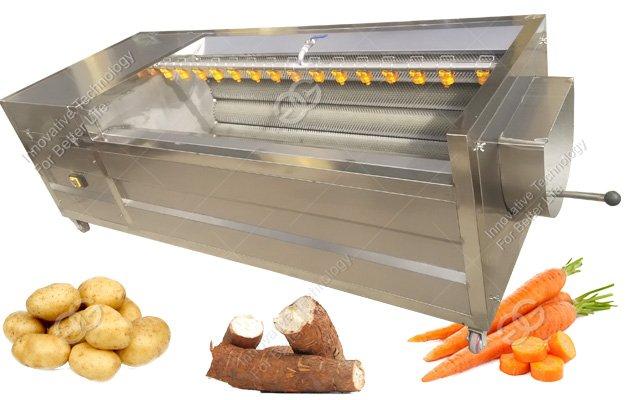 Cassava Potato Washing Peeling Machine|Sea Shell Washing